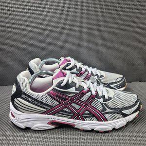 Womens Sz 10 White Asics Gel Galaxy 5 Running Shoe